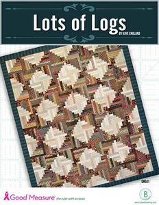 Good Measure, Kaye England, Logs, Quilt Pattern, Quilting, Templates