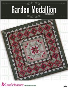 Good Measure GM504 Garden Medallion Quilt Pattern by Kaye England