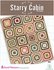 Good Measure GM503 Starry Cabin Quilt Pattern by Kaye England