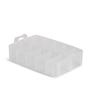 Fil-Tec Mini Spools Empty Thread Storage Case—Single Layer, Lid Sold Separately