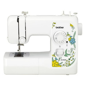 97125: Brother JX3135F 17/38 Stitch Basic Mechanical Sewing Machine, Full Size, 4-Step Buttonhole Balance Adjust