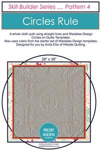 Circles Rule Skill Builder Pattern 4 by Anita Ellis - Printed Copy