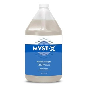 97299: CS-8269 Myst-X Hand Sanitizer Topical Solution 80% Alcohol 1 Gallon Non-Sterile Antiseptic