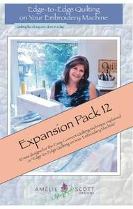 Amelie Scott Designs ASD246 Edge to Edge Expansion Pack 12 CD