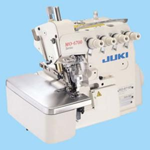 Juki MO-6716S-FF6-50H /(with S161 Gathering Devise), 2 Needle 5 Thread Serger, Power Stand, Servo Motor