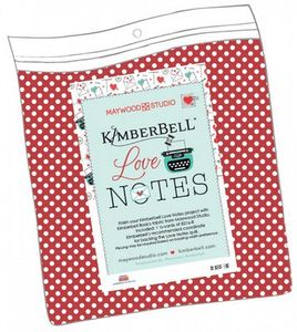 Love Notes by Kimberbell KIT-MASBACK-LON Mystery Quilt Backing Kit