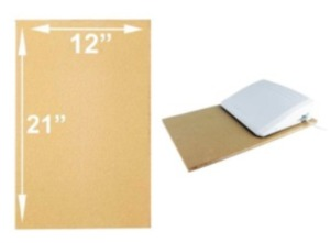 """Virtual Event Special: Large Machine Pad and Large Foot Pad Bundle, 12"""" x 21"""" Machine Pad and 10"""" x 14"""""""