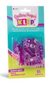 KLIPit 03312 Perfect Klip 25ct Purple