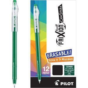 Frixion PIL32468 Ball ColorStick Hunter Green Box of 12