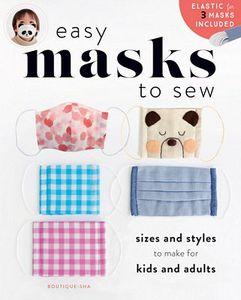 Zakka Workshop, ZW4747, Face Masks, Sewing Patterns, Multiple Sizes