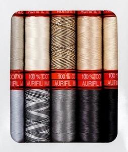 Aurifil Black Diamond Thread Set Thread Collection by Kaye England