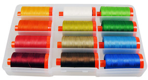 Aurifil Home Collection Classic 12 Large Spools Thread Collection