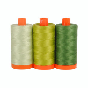 Aurifil Color Builder Dolomites Green 3 pc. Thread Collection