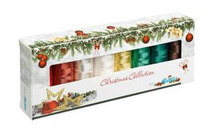 Aurifil Polysheen Christmas Gift Pack 8 Spool Thread Collection