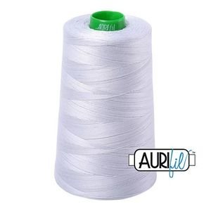 Aurifil SPECIAL ORDER Mako 40wt 5140 yd. Cone, Dove Thread Collection