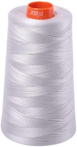 Aurifil 40wt 3-ply Cones 3,280yd Aluminum Thread Collection