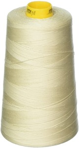 Aurifil Mako MK40-3CO-2310 Light Beige, 40wt Poly 3280 yd. Cone Thread