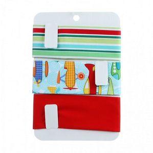 Deniece's Designs, Fabric Organizer, Storage, Fabric Storage, FS-107, Shorty, Fabric, Bias Binding, Bias Tape, Ribbon