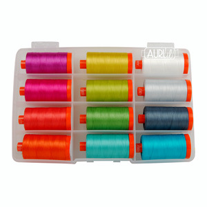 Aurifil Kitty Wilkin Color Crush Thread Collection