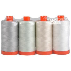 Aurifil LightWork 4 Pk. Large Spool 50wt Thread Collection