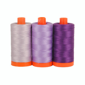 Aurifil Color Builder Amalfi Purple 3 pc. Thread Collection