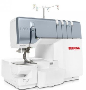 Bernina L850 2/3/4 Thread Overlocker with Chain Stitch and Cover Stitch, Air Threader, Knee Lift