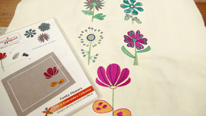 Floriani U-FLL U-Design It Funky Flowers Embroidery Collection
