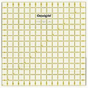 """Omnigrid OG15 15 X 15"""" Square Ruler"""