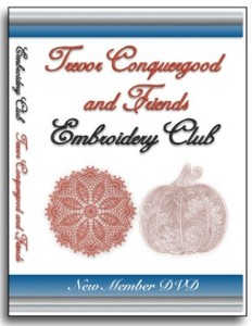 Floriani Embroidery Club 101 DVD with Trevor Conquergood