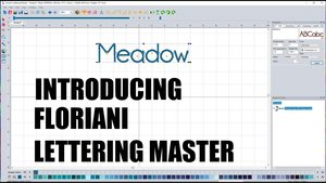 Floriani FLM Lettering Master
