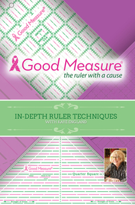 Good Measure ALL 21 Piece Ruler Set and Instructional DVD by Kaye England