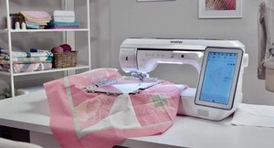 98312: Brother XP2 Demo Sewing QuiltBroidery Machine, My Design Snap Mobile App +9 Extras