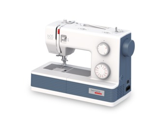 Bernette, B05, Academy, Mechanical, Sewing, Machine, simple, beginner, starter, button, hole, Bernette 05 Academy 33 Stitch Mechanical Sewing Machine, Ext. Table, Threader, 1Step Buttonhole, Drop Feed Free Motion, Speed Control, 1100SPM, 12Feet