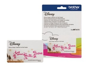Brother CADXDSNP12 Disney Design Collection for Roll Feeder, ScanNCut DX