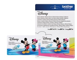 Brother Disney Mickey Mouse & Minnie Mouse Modern Design Collection