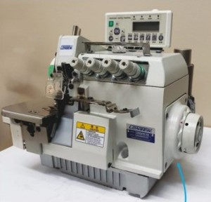 Consew CM794-7-DD,Two-Needle, 4 Thread Overlock Machine with Fabric Edge Trimmer, Automatic Thread Trimmer, Fully Automatic Lubrication