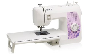 Brother BM3850 37/74 Stitch Freearm Mechanical Sewing Machine, 1-Step Buttonhole, 6 Feet, Threader