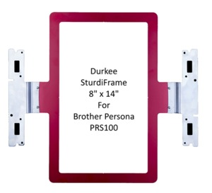 "98477: Brother SASTURDY8X14 8"" x 14"" DURKEE Split Design Hoop Frame for PRS100 Persona and Babylock Alliance BNAL requires PEDesign 11 Split Design Software"
