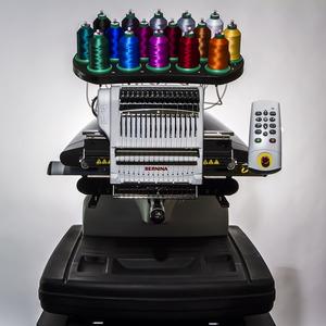 "Bernina E16 PLUS, E16, New, 16 Needle, 16x14"" Embroidery, Machine, 1400SPM, Narrowest Cylinder Arm, Auto Tension, Laser Pointer"