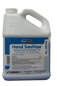 Albatross AlbaChem Liquid Hand Sanitizer, 1 Gallon, Either 4 pk. Case or Each
