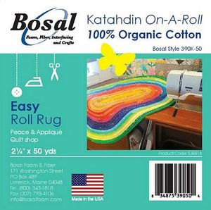 92751: Bosal BOS390K-50 Katahdin On A Roll100% Natural Cotton 2.25in x 50yds