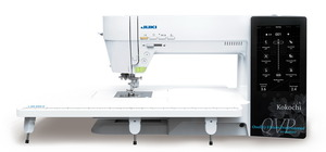 "8574: Juki Kokochi HZL DX4000QVP C367 Stitch Sewing Quilting Machine 12""Arm, Onscreen Swipe, Stitch Editing"
