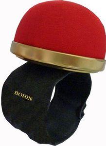 98690: Bohin BH98321 Pin Cushion Auto Bracelet Red