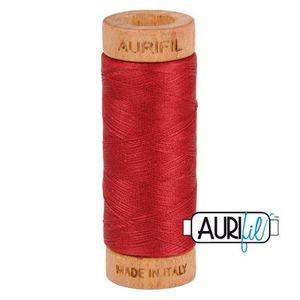 Aurifil 1080-1103 Cotton Mako Thread, 80wt 280m BURGUNDY