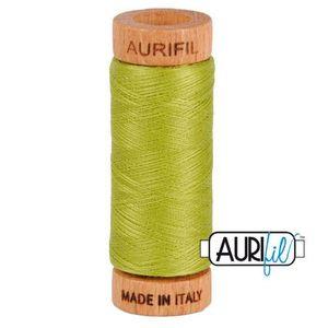 Aurifil 1080-1147 Cotton Mako Thread, 80wt 280m LIGHT LEAF