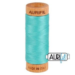 Aurifil 1080-1148 Cotton Mako Thread, 80wt 280m LIGHT JADE