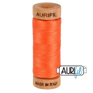 Aurifil 1080-1154 Cotton Mako Thread, 80wt 280m DUSTY ORANGE