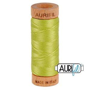 Aurifil 1080-1231 Cotton Mako Thread, 80wt 280m SPRING GREEN