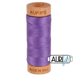 Aurifil 1080-1243 Cotton Mako Thread, 80wt 280m DUSTY LAVENDER