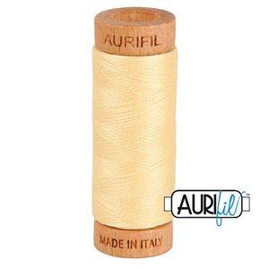 Aurifil 1080-2105 Cotton Mako Thread, 80wt 280m CHAMPAGNE
